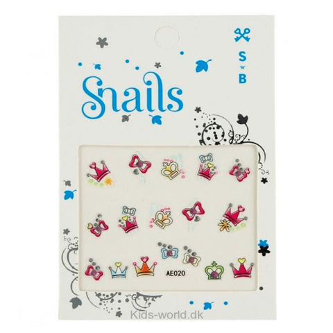 Snails | Nail Stickers - Perfect Princess