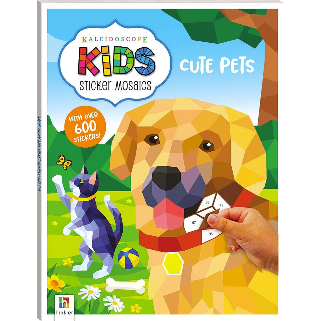 Hinkler | Kaleidoscope Kids Sticker Mosaics - Cute Pets