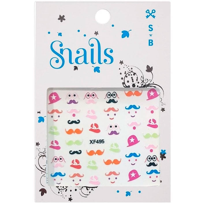 Snails | Nail Stickers - Mrs Potato Head
