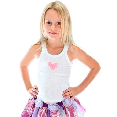 Fairy Girls | Sweetheart Singlet Top - Pink