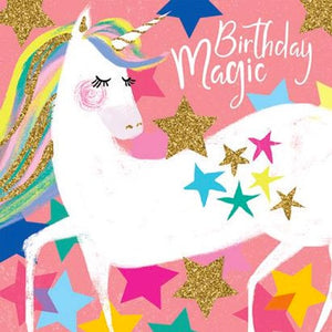 Birthday Card | Unicorn Birthday Magic