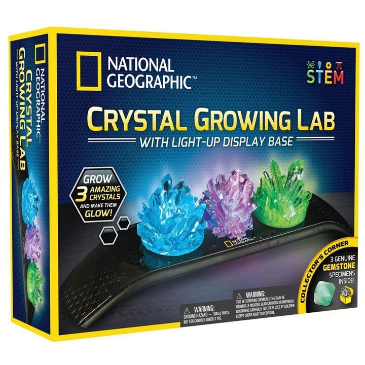 National Geographic | Crystal Growing Lab