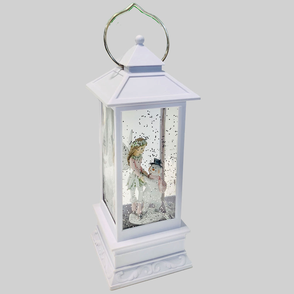 Cotton Candy | Fairy and Snowman Lantern