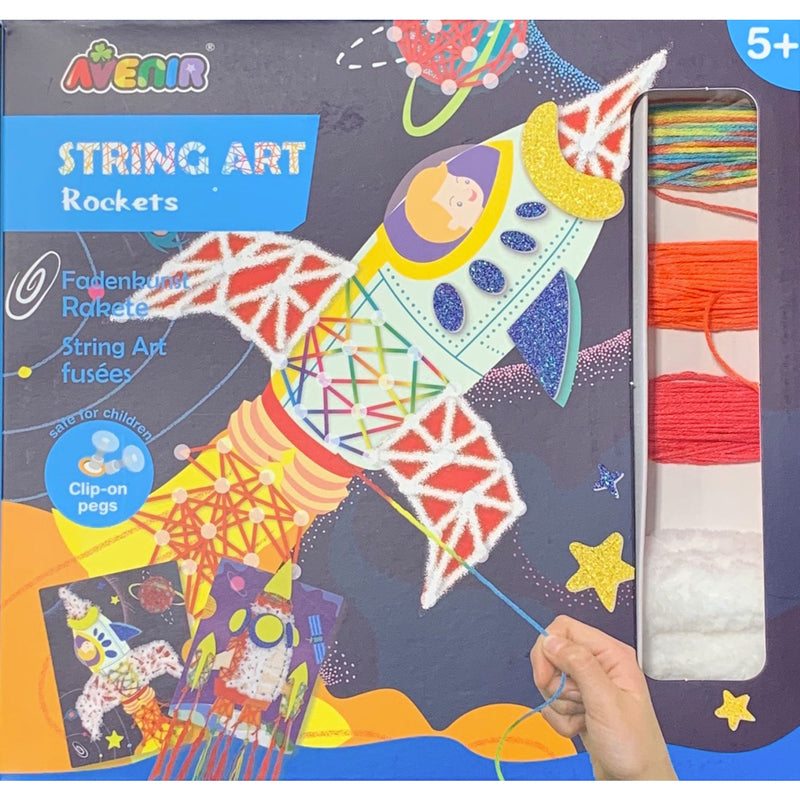 Avenir | String Art - Rockets