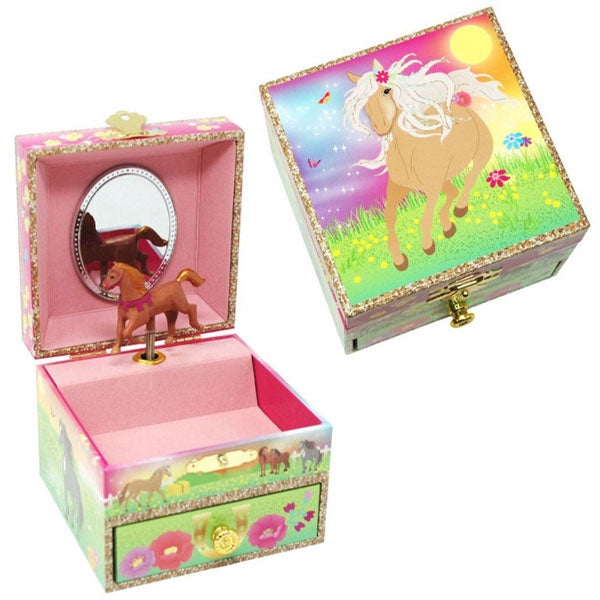 Pink Poppy | Horse Meadow Jewellery Box - Small
