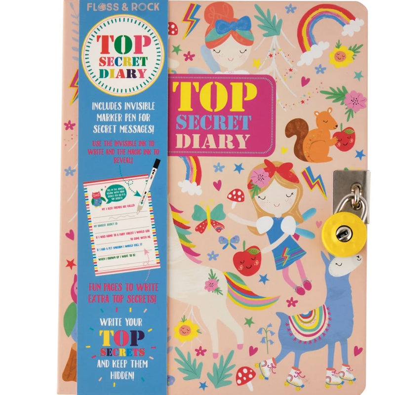 Floss and Rock | Top Secret Diary - Rainbow Fairy