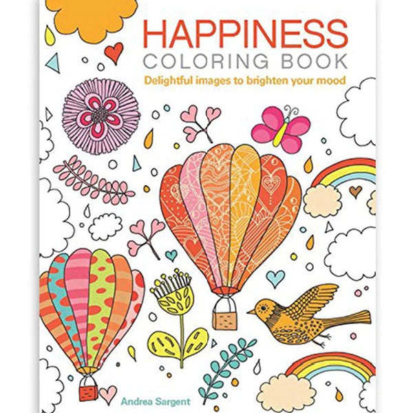 Arcturus | Happiness Colouring Book