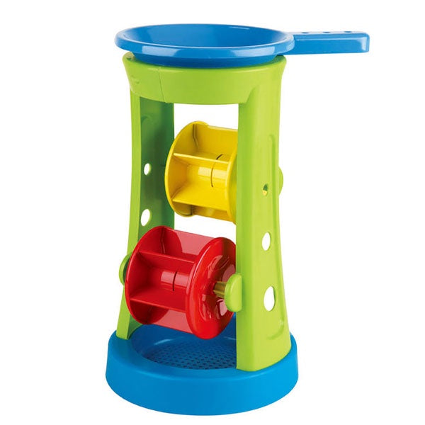 Hape | Double Sand And Water Wheel