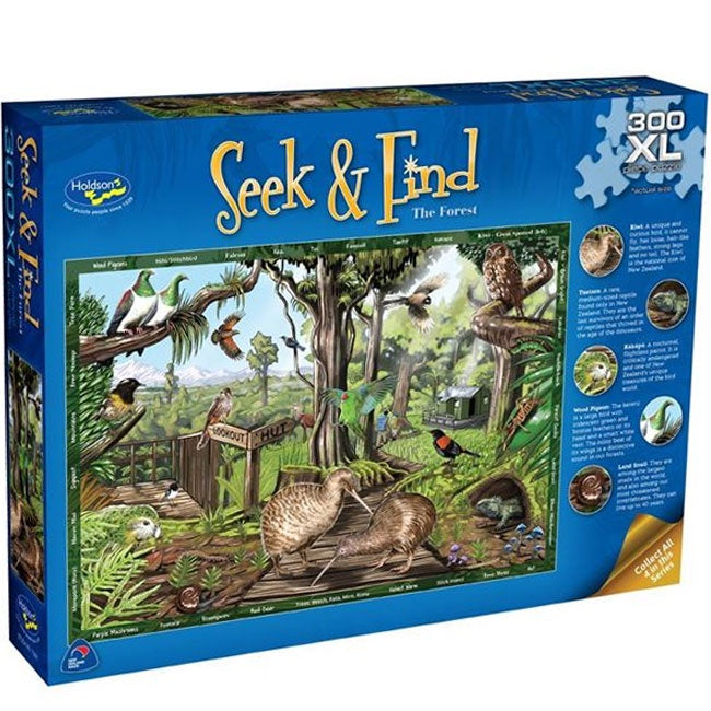 Holdson | Seek & Find 300 XL Piece Puzzle - The Forest