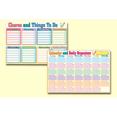 Learning Placemat | Chores And Things To Do