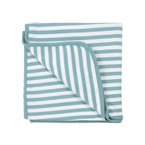 Woolbabe | Merino & Organic Cotton Swaddle/Blanket - Tide