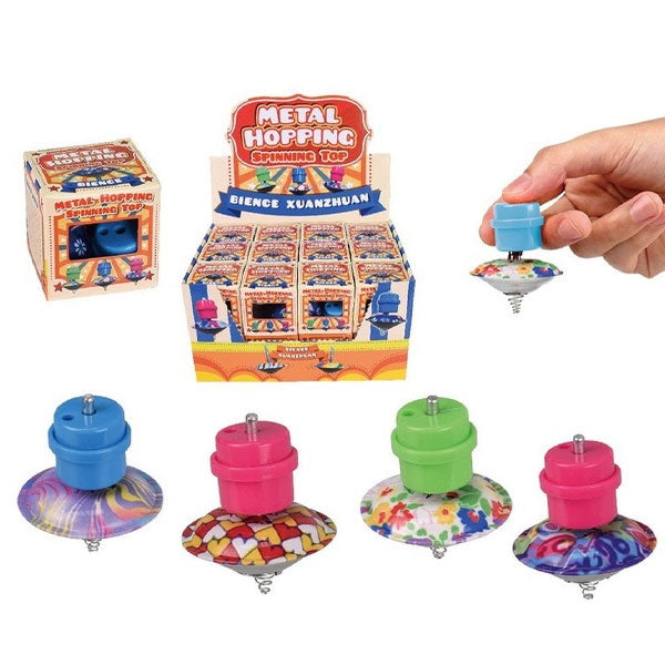 SSS Toys | Metal Hopping Spinning Top