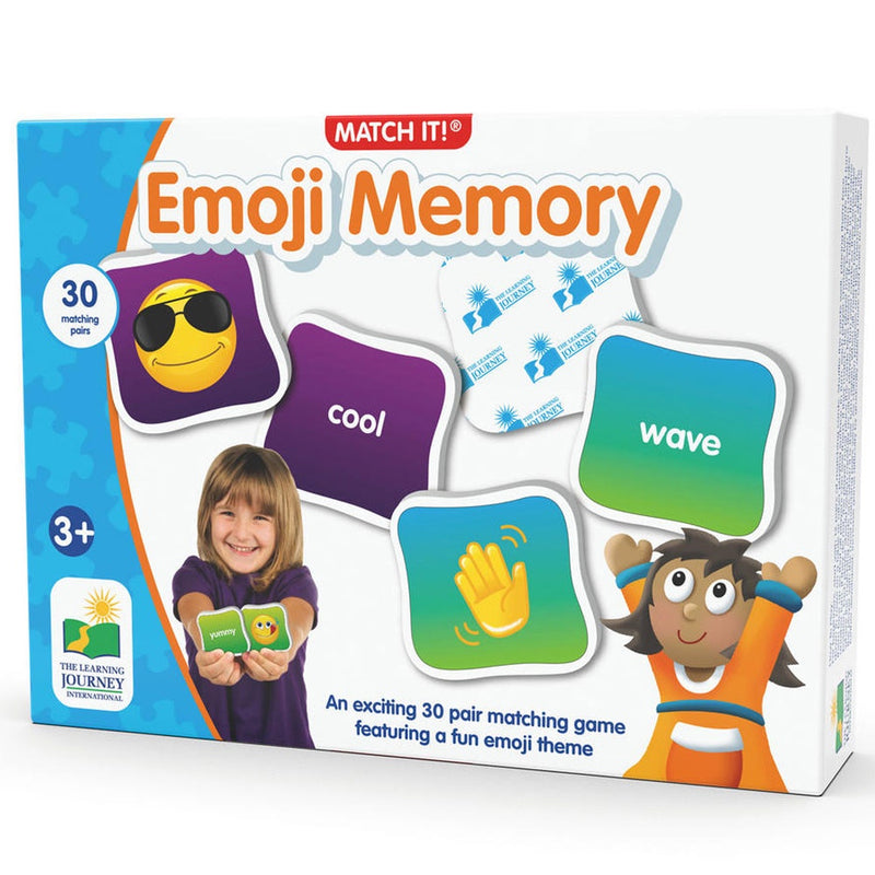 The Learning Journey | Match It - Emoji Memory