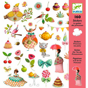 DJECO | Stickers - Princesses Tea Party