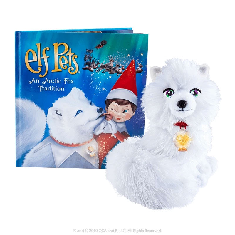 Elf On The Shelf | Arctic Fox