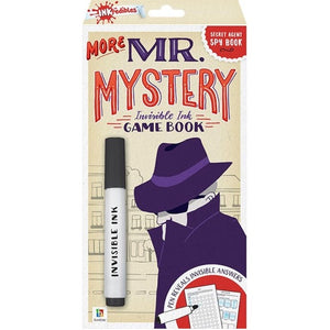 Hinkler | Invisible Ink Game Book - More Mr Mystery