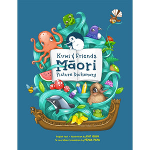 Tikitibu | Kuwi and Friends Maori Picture Dictionary