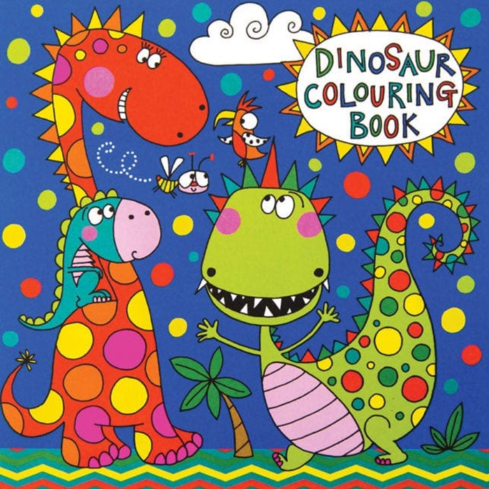 Rachel Ellen Designs | Dinosaur Colouring Book