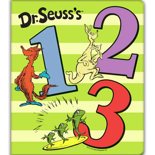 Dr Seuss - 1 2 3 Board Book