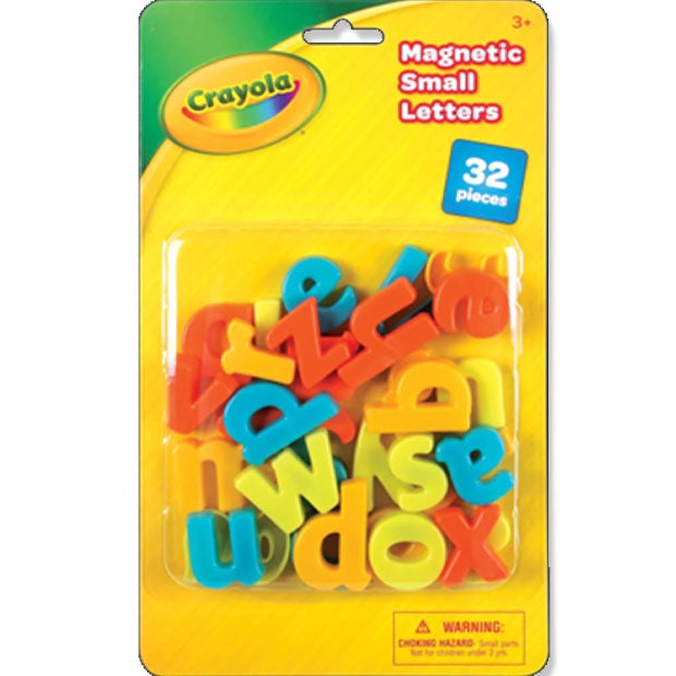 Crayola | Magnetic Lower Case Letters - 32 Pieces