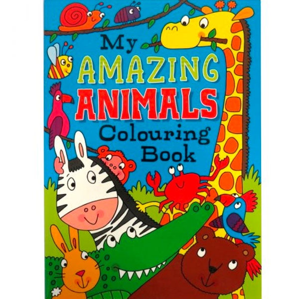 My Amazing Animals Colouring Book