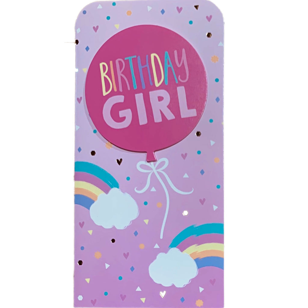 Birthday Card | Money Wallet - Birthday Girl