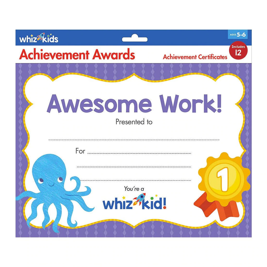Whiz Kids | Achievement Awards
