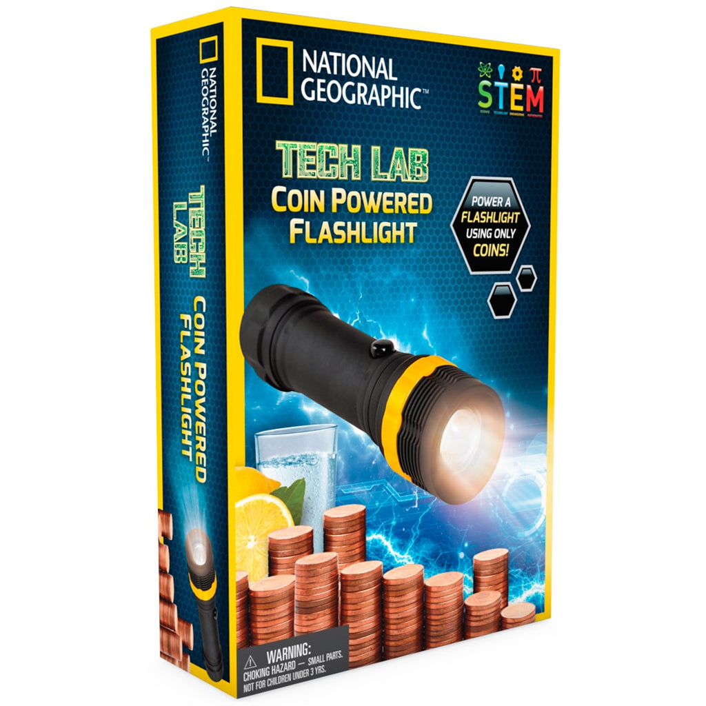 National Geographic | Tech Lab - Coin Powered Torch
