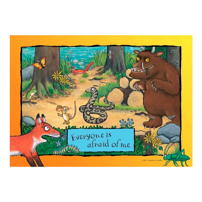 Holdson | 35 Piece Gruffalo Tray Puzzle - Everyone Is Afraid Of Me