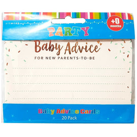 Art Wrap | Baby Advice Cards