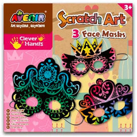 Avenir Scratch - 3 Face Masks