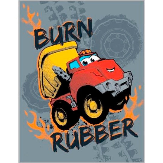 Birthday Card | Chuck - Burn Rubber