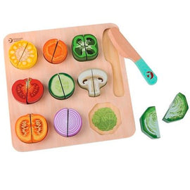 Classic World | 20 pieces - Cutting Vegetables Puzzle