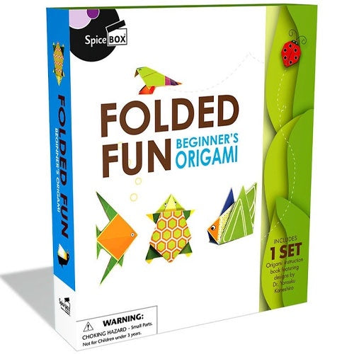 Spice Box | Folded Fun - Beginners Origami
