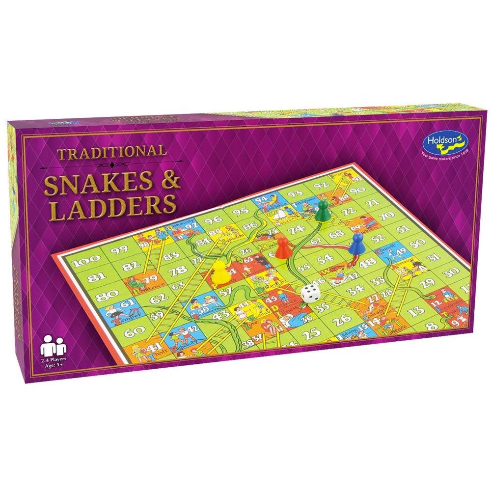Holdson | Traditional Snakes & Ladders