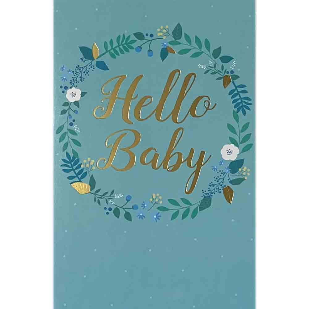 Baby Cards | Hello Baby Blue