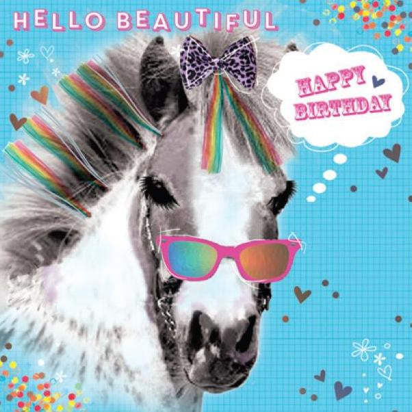 Birthday Card | Crazy Dayz Hello Beautiful