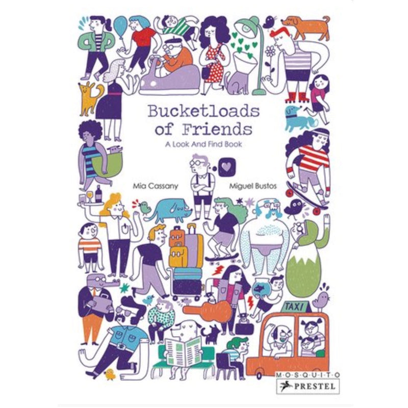 Bucket Loads Of Friends - A Look and Find Book
