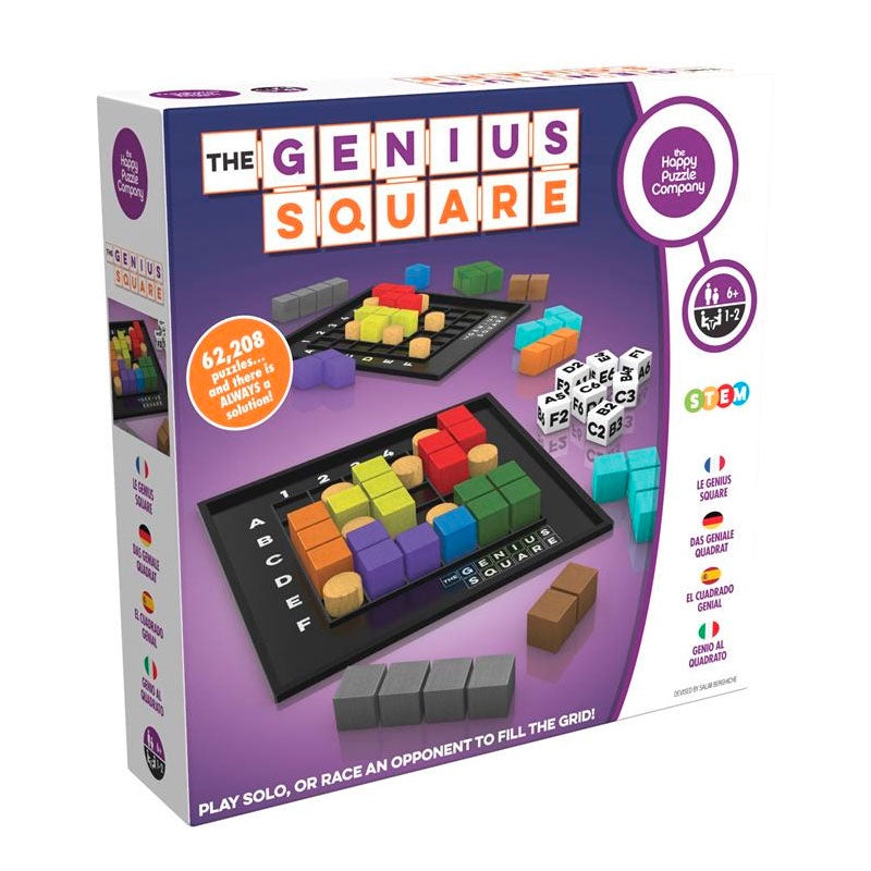 The Happy Puzzle Company | The Genius Square