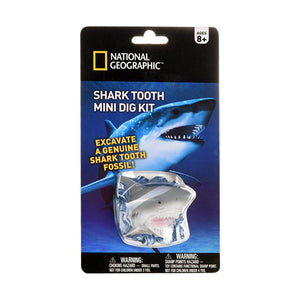National Geographic | Shark Tooth Mini Dig Kit