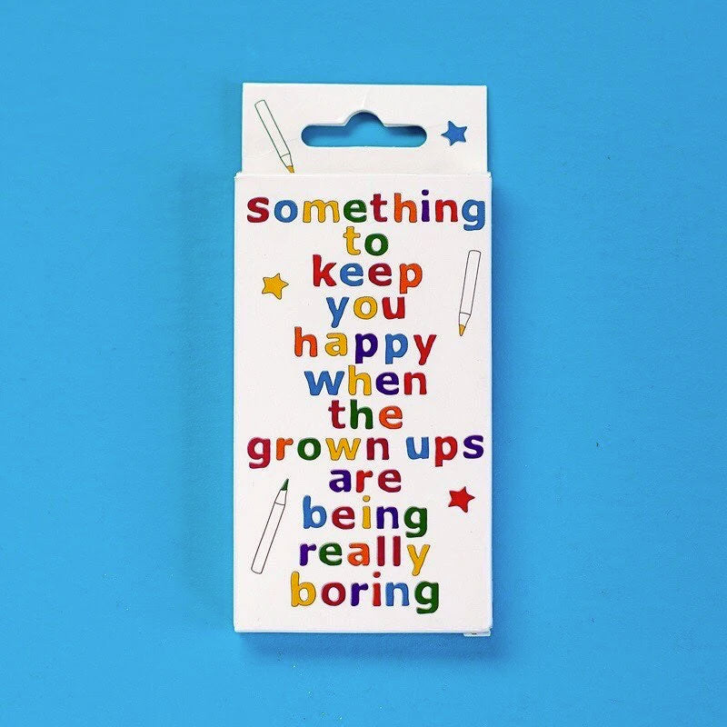 Something To Keep You Happy Book with Pencils - Dinner Table