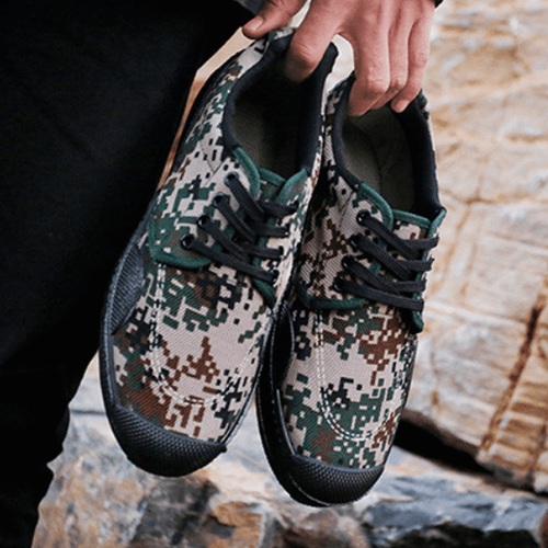 Camouflage Sneakers for Men and Women