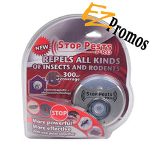 Load image into Gallery viewer, Stop Pests Pro Ultrasonic Pest Reject for Mice,Spiders, Insects, Bugs, Ants