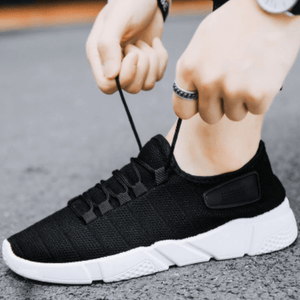 Men Sneakers Korean Fashion Rubber Shoes