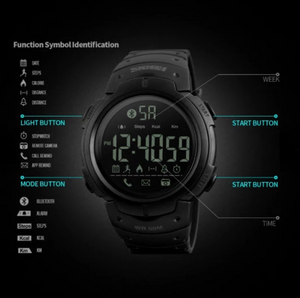 Bluetooth Smartwatch for Men & Women