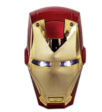 Load image into Gallery viewer, Iron Man Head Power Bank Portable Avenger