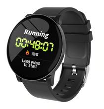 Load image into Gallery viewer, Smart Watch Waterproof Tempered Glass Activity Fitness Tracker Heart Rate Monitor