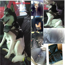 Load image into Gallery viewer, Waterproof Pet Car Seat Covers Back Bench