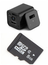 Load image into Gallery viewer, Hidden Camera USB Wall Charger Wireless Home Security