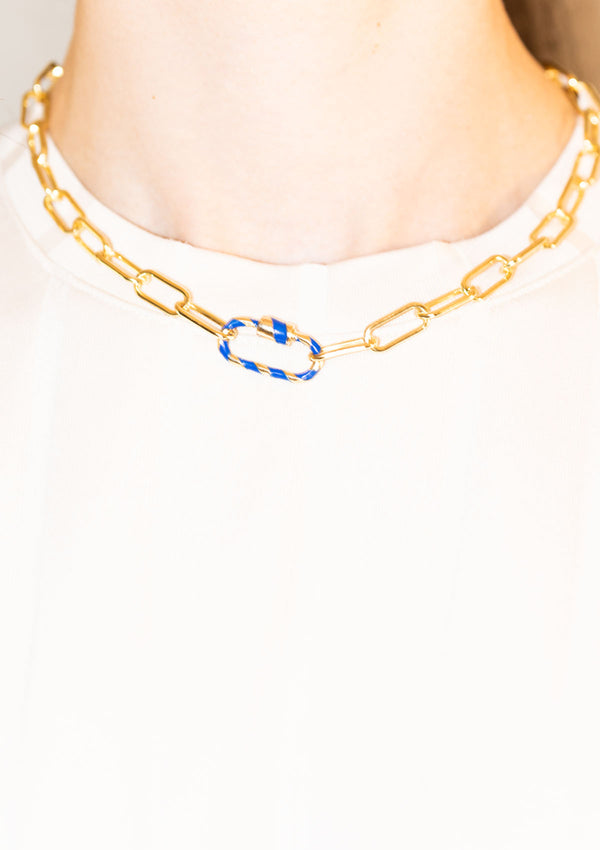 AGNETE NECKLACE GOLD PLATED